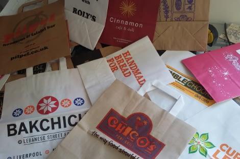 Paper Bags - Planet Packaging, Poulton-Le-Fylde, Lancashire